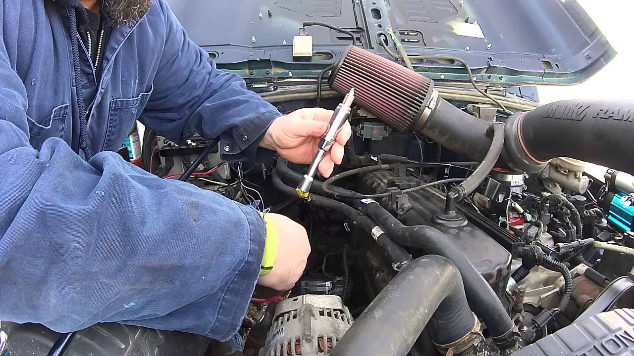 jeep spark plug diy and coil pack testing [ 1280 x 720 Pixel ]