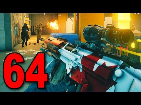 Rainbow Six Siege - Part 64 - TRYING BUCK'S SNIPER
