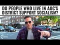 Do People In AOC's District Support Socialism?