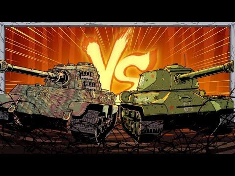 German vs Soviet Tanks   Animated History