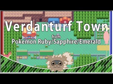 """""""Pokemon R/S/E -Verdanturf Town Theme"""" for 2 flutes and Orchestra"""