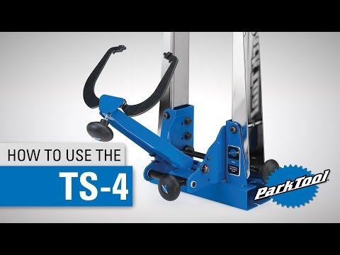 How To Use & Center the TS-4 Professional Wheel Truing Stand