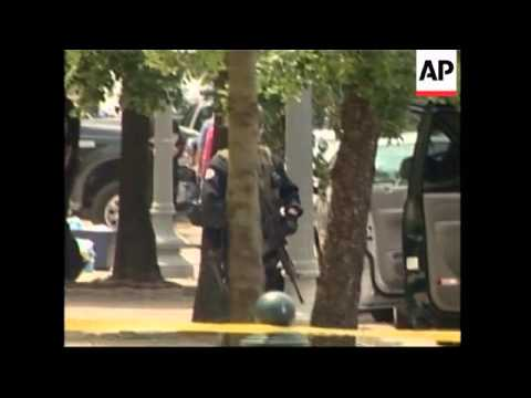 WRAP Police seal off Capitol after reports of gunfire