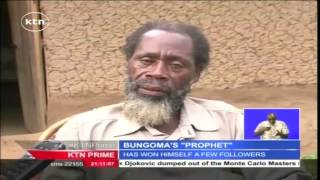 "Man who claims to be a prophet sent to save mankind writes his own ""bible"" in Bungoma"