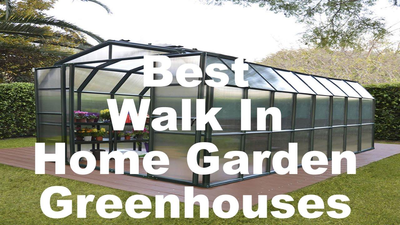 Walk In Garden Box: Best Home Garden Greenhouses For Sale (Polycarbonate, Walk