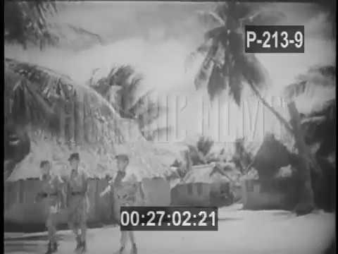 ISLAND DESTROYED IN U.S. HYDROGEN BOMB TEST - 1952