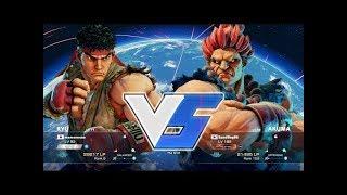 Daigo memememe (RYU) VS SandBag (AKUMA) Pro Street Fighter 5 Season...