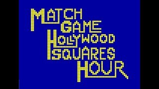 """Theme of """"The Match Game/Hollywood Squares Hour"""" ~ Edd Kalehoff (Extended w/DL)"""