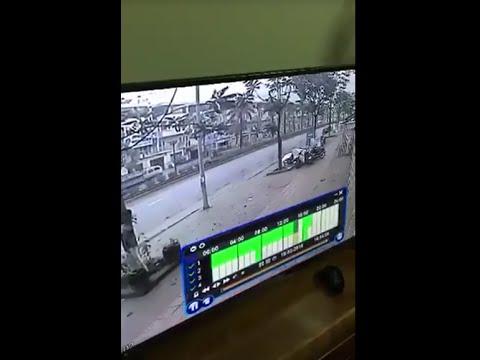 Cận cảnh góc quay vụ nổ kinh hoàng ở Hà Đông chiều 19-03