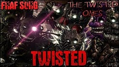 """[SFM/FNAF/SONG] ▶ """"TWISTED"""" - Song by Nightcove the Fox - (The Twisted Ones Story)"""