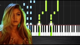 Calvin Harris & Disciples - How Deep Is Your Love - Piano Cover/Tutorial by PlutaX - Synthesia