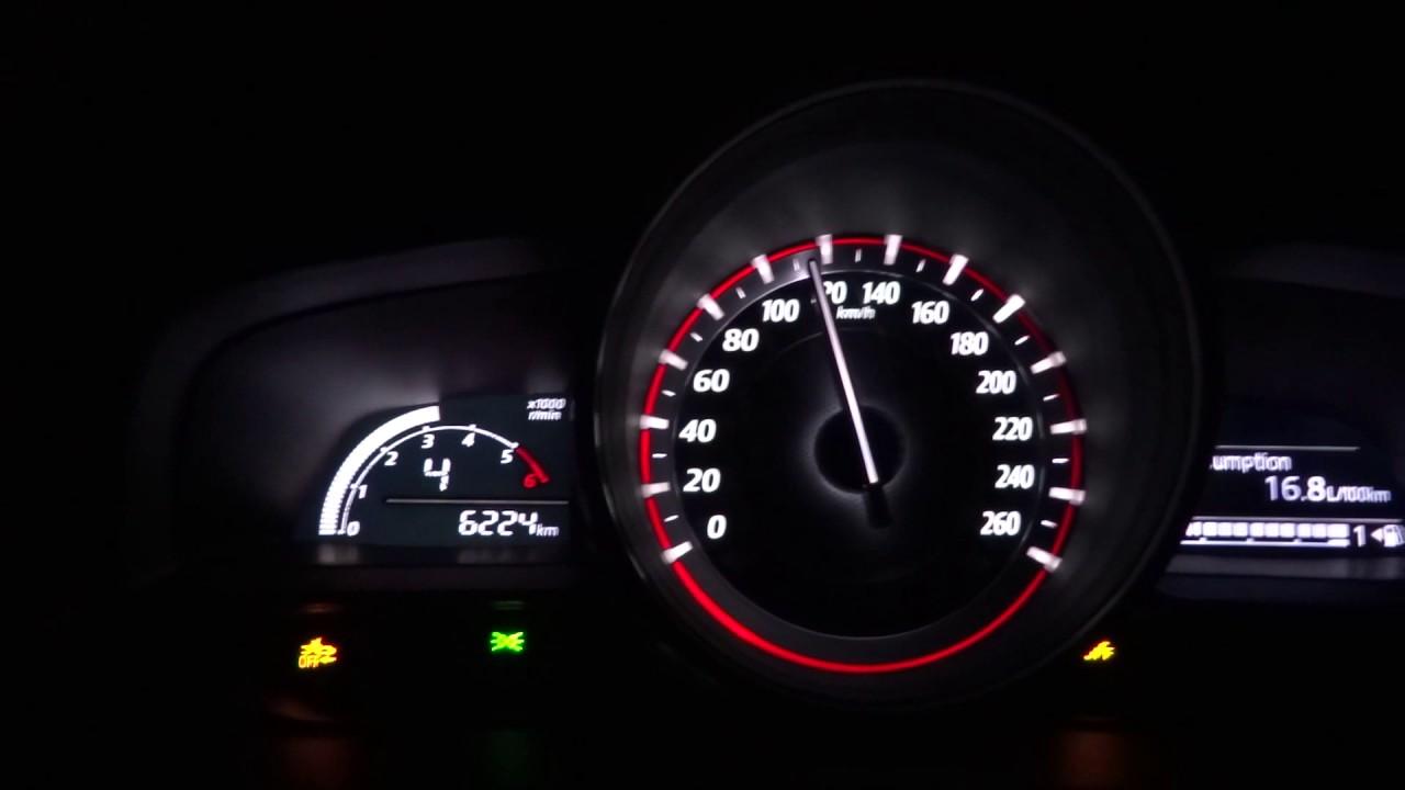 Mazda 3 0-100