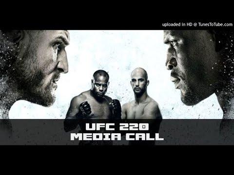 UFC 220: Miocic vs. Ngannou Media Conference Call