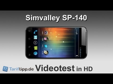 Simvalley SP-140 | HD-Handytest