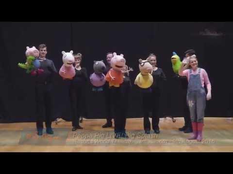 Peppa Pig makes a splash in Singapore
