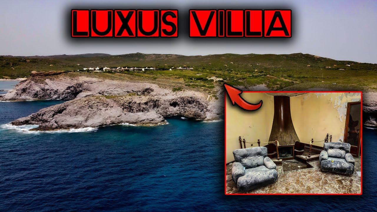 Die verlassene Luxus Villa in Traumlage am Meer I Extravagant und heute verlassen I Urbex Sardinien