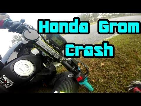 Honda Grom Crash