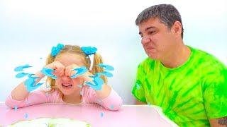 Stacy y papá - nueva serie divertida para niños