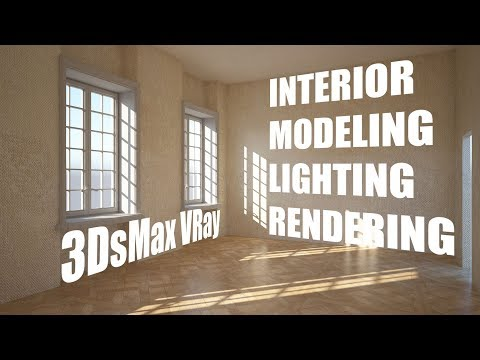 Interior Modeling, Lighting & Rendering with 3DsMax & VRay 3.60