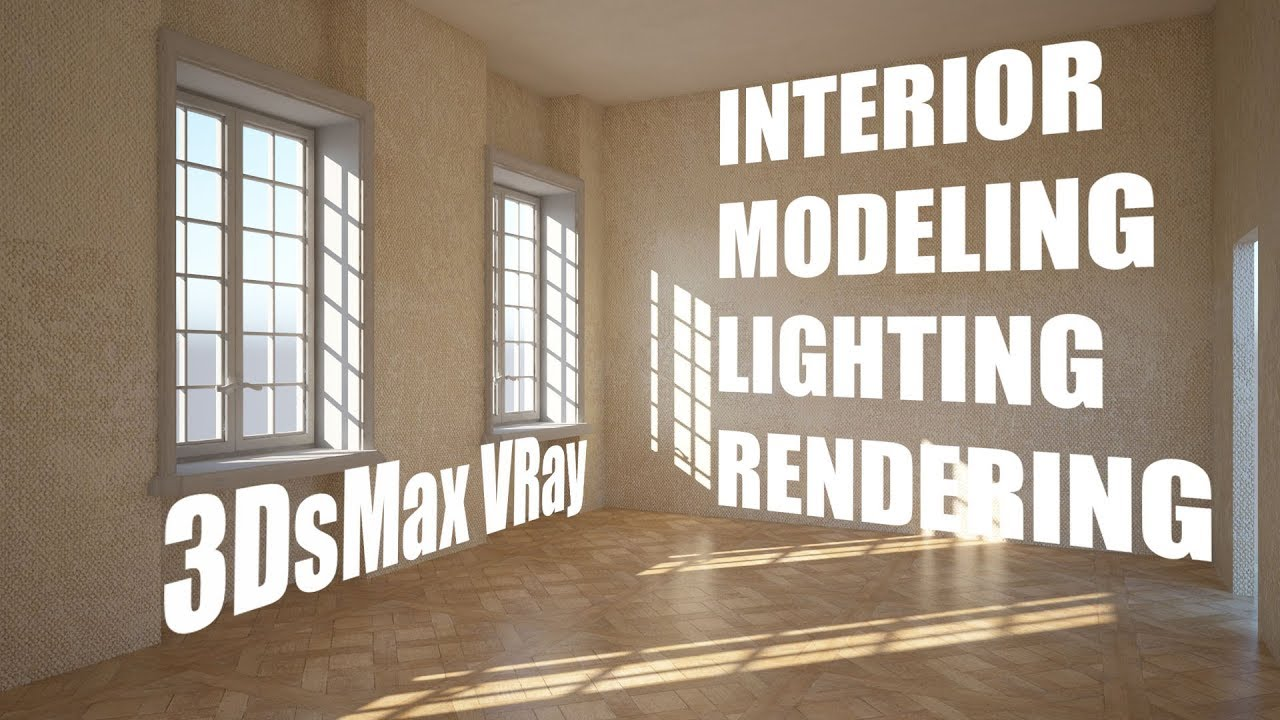 Interior modeling lighting rendering with 3dsmax vray for Vray interior lighting rendering tutorial