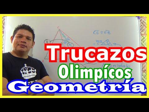 Ejercicio de la OLIMPIADA de Matemáticas (TRUCOS GEOMETRÍA)
