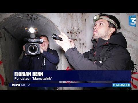 France 3 nous suit dans des bunkers abandonnés (Débrief Explorations nocturnes)