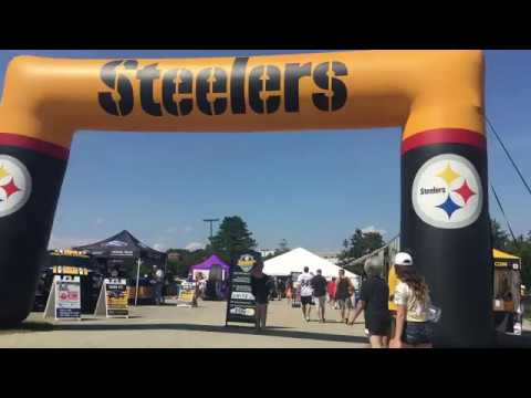 Pittsburgh Steelers Training Camp Set-up