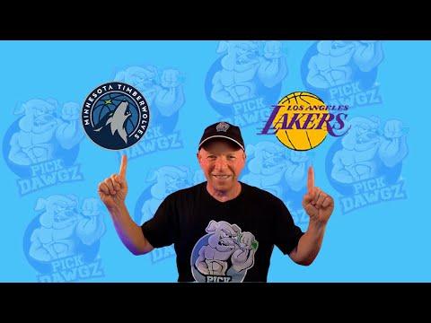 Los Angeles Lakers vs Minnesota Timberwolves 3/16/21 Free NBA Pick and Prediction NBA Betting Tips
