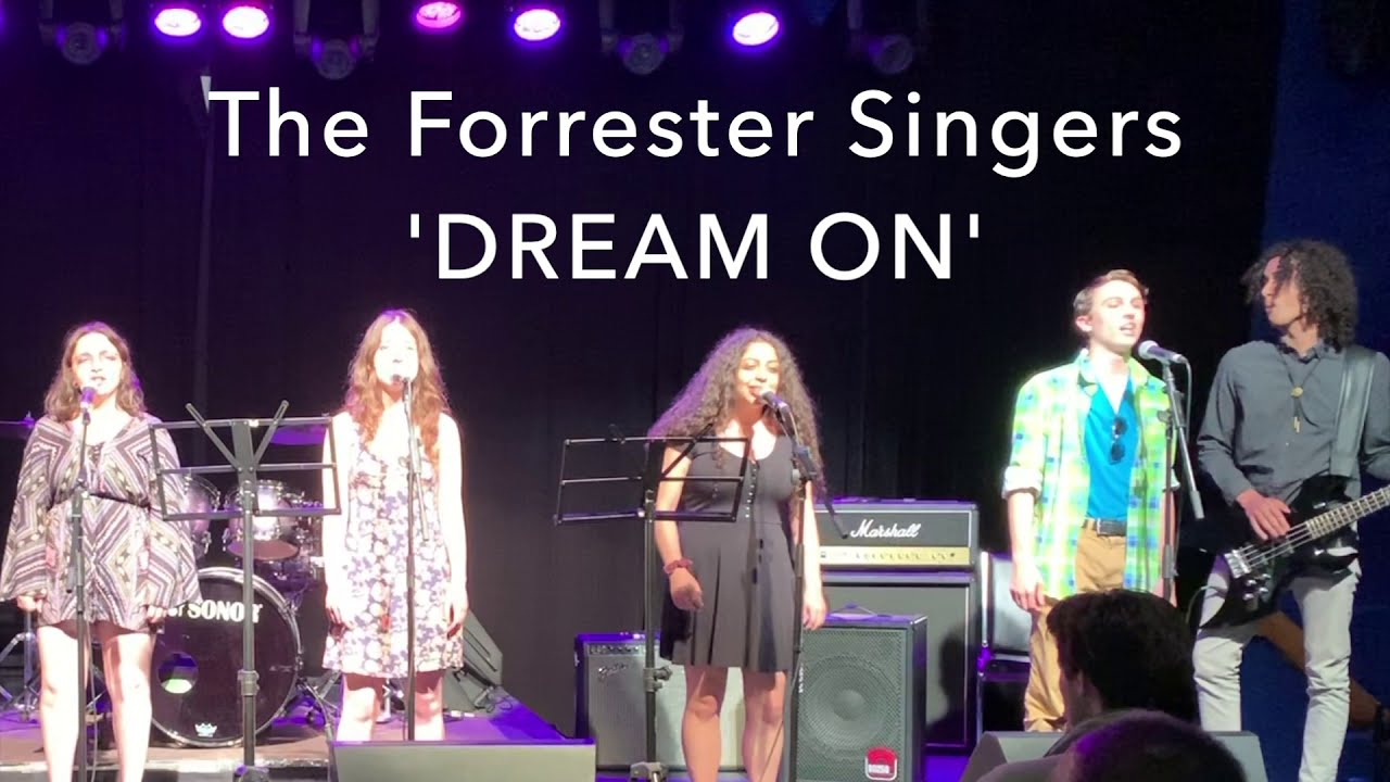 'DREAM ON' - Aerosmith (cover) by The Forrester Singers