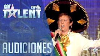 Ana trae a México a nuestro escenario | Audiciones 4 | Got Talent España 2016