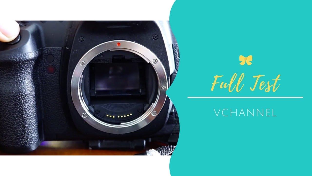 Hướng dẫn chi tiết cách test khi mua máy ảnh cũ