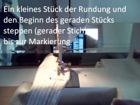 kissen mit reissverschluss n hen youtube. Black Bedroom Furniture Sets. Home Design Ideas