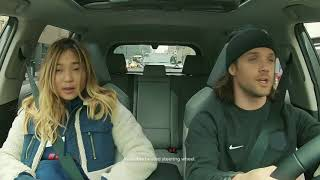 Riding with Chloe Kim in the all new 2019 Toyota Rav4!