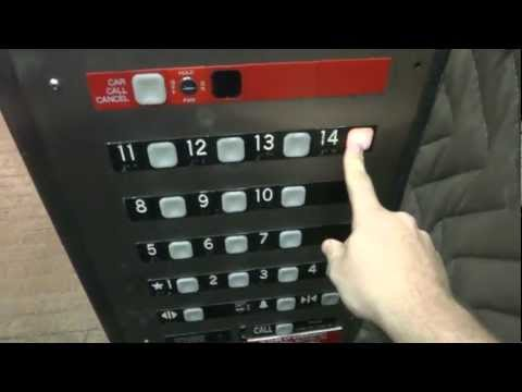 Custom Dover Impulse Traction elevator @ Poff Federal Building Roanoke VA w Filmer765