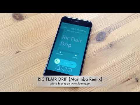 RIC FLAIR DRIP Ringtone - Offset & Metro Booming Tribute Marimba Remix Ringtone - iPhone & Android