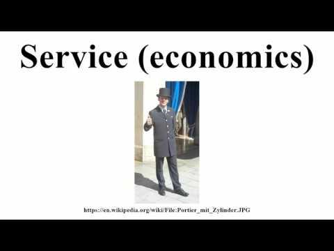 Service (economics)