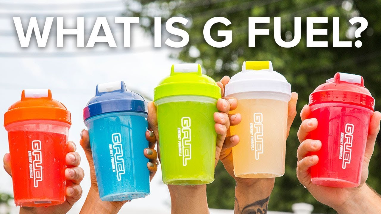What is G FUEL? - Sugar Free Energy Drink for Gamers & Athletes