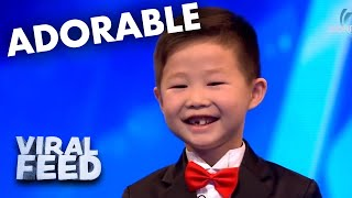 THE CUTEST AUDITION YOU WILL EVER SEEN | VIRAL FEED