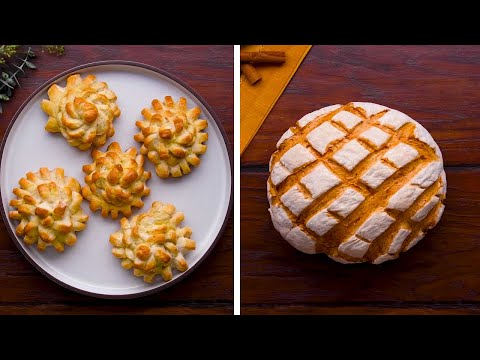 Y'all BREAD-y for this? 13 Quick & Creative Ways to Make Beautiful Bread! | DIY Baking by So Yummy