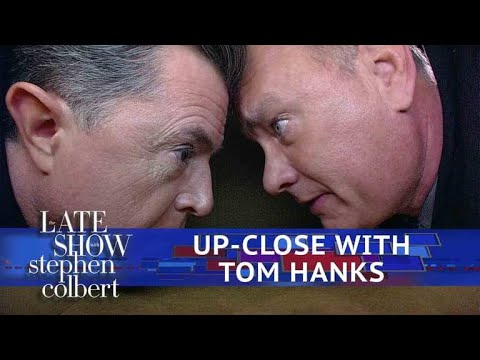 Download Youtube: Tom Hanks Gets Extremely Personal With Stephen Colbert