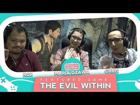 Maria Ozawa discovers The Evil Within with Ungeek  | Notice Me Senpai