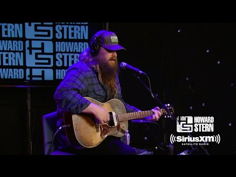 Chris Stapleton Broken Halos  on the Howard Stern Show