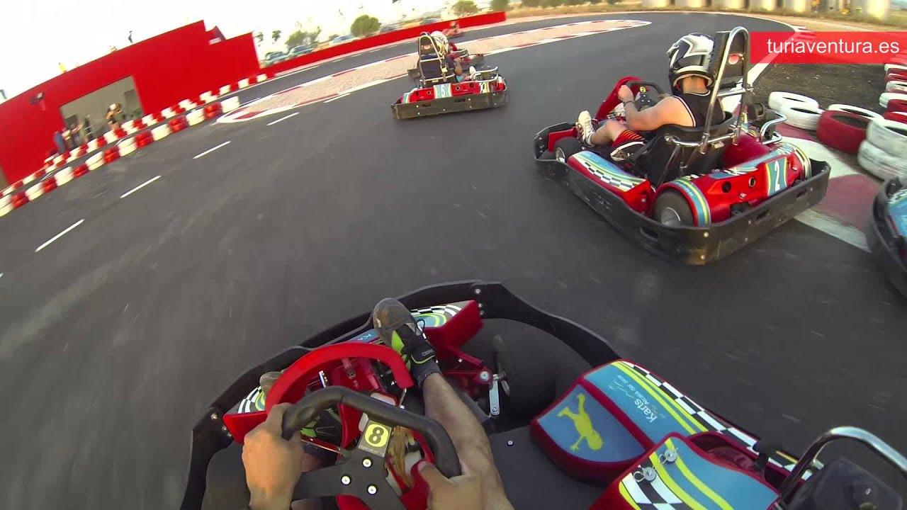 Circuito Karts : Karts alcala del jucar circuito de karting youtube