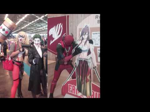 Japan Expo 2016 France - comics character cosplay