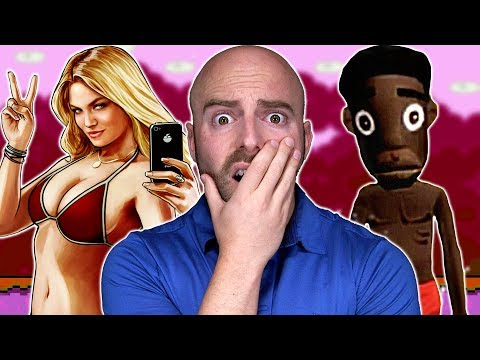 10 Most OFFENSIVE VIDEO GAMES Ever Made!