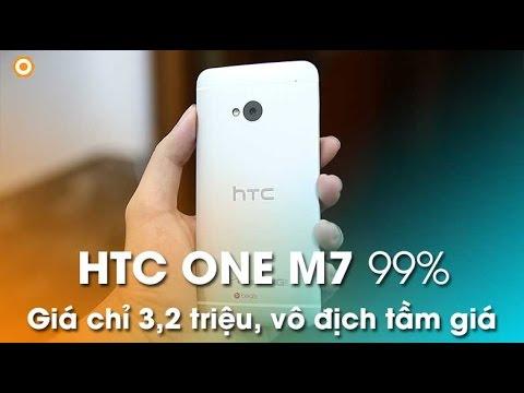 HTC ONE M7 cũ: Thiết kế đẹp, giải trí đỉnh tầm giá 3 - 4tr