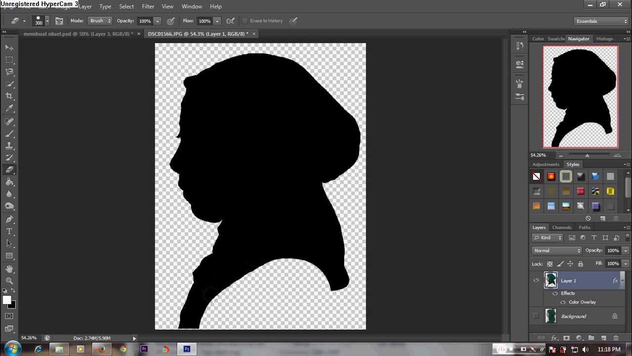 Download Tutorial Photoshop - Cara Membuat Siluet PAS MANTAP