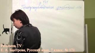 Peremena TV Русский язык, Быстрова, № 171