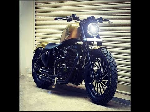 crazy modified royal enfield by bulleteer customs