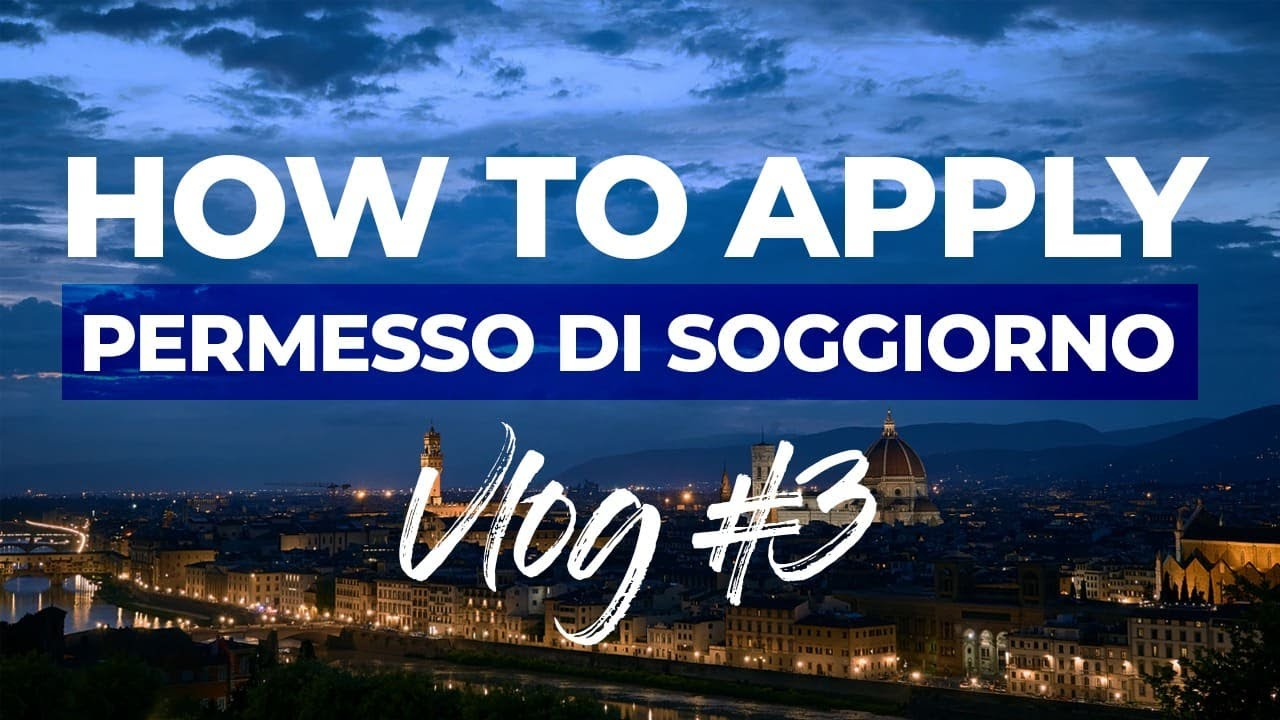 How to apply Permesso di Soggiorno | HOW TO STAY IN ITALY ...
